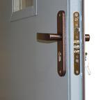 Дверь с однокамерным стеклопакетом DMS08